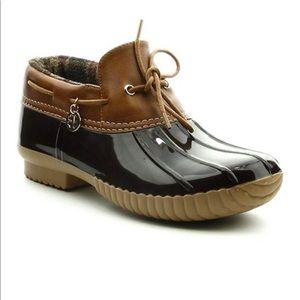 Cape Robbin Duck Shoe Boot 8 Brown Low